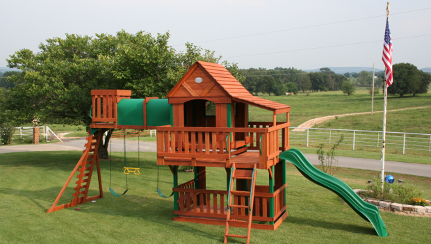 Wood swing set plans free download average93mni - How to build an outdoor wooden playground ...